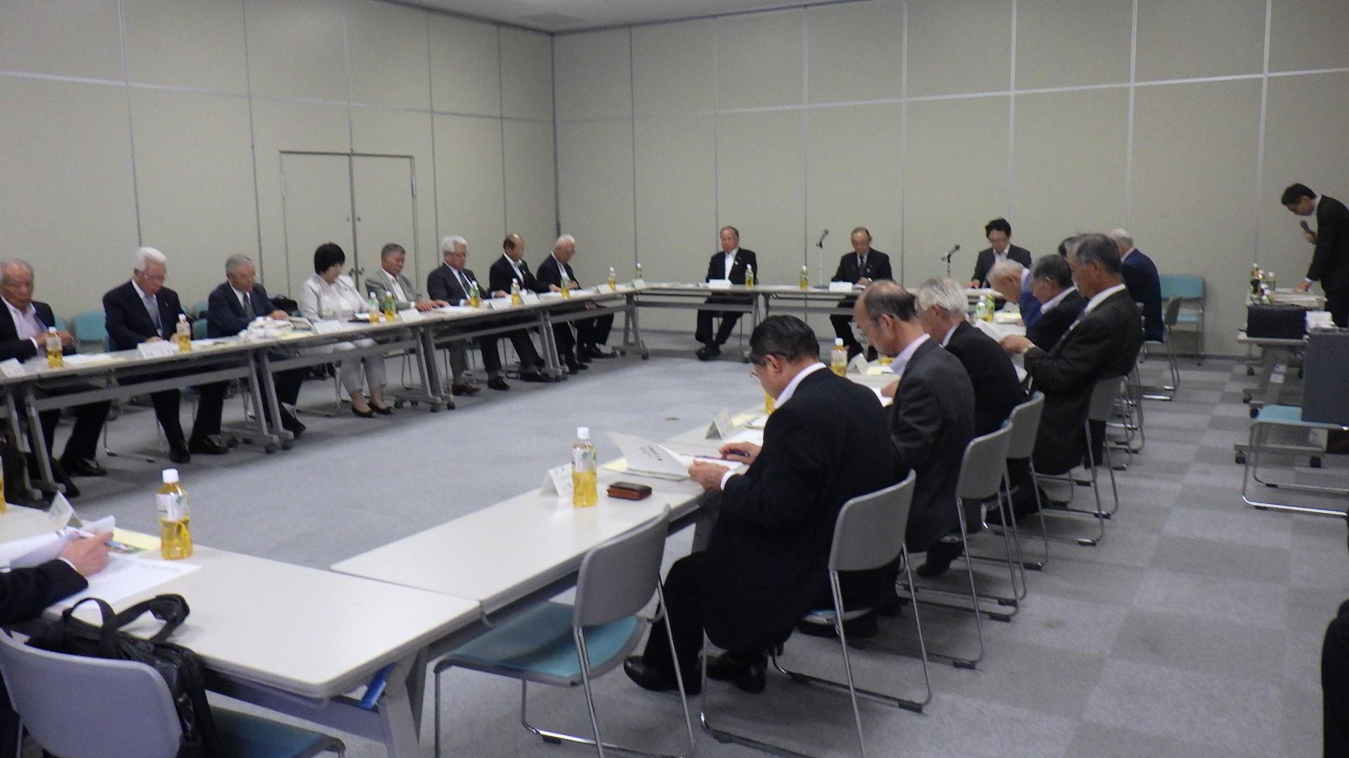 令和元年度第1回理事会等の会議を開催しました
